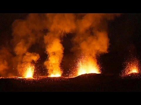 Erupcija vulkana na Rejunionu