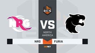 NRG vs FURIA, map 3 train, ECS Season 7 North America