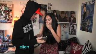 Download Video A Huge Surprise for Justin Bieber's Superfan! MP3 3GP MP4