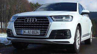 ' 2016 AUDI Q7 3.0 TFSI Quattro -  S-LINE ( 4 M ) ' Test Drive & Review - TheGetawayer by The Getawayer