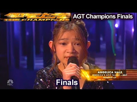 Angelica Hale Sings Impossible Amazing Again | America's Got Talent Champions Finals Agt