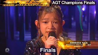 Video Angelica Hale sings Impossible AMAZING AGAIN | America's Got Talent Champions Finals AGT MP3, 3GP, MP4, WEBM, AVI, FLV Maret 2019