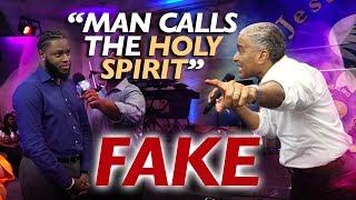 Video AMAZING !! MAN CALLS THE HOLY SPIRIT FAKE and watch what happened next / Prophet Ed Citronnelli MP3, 3GP, MP4, WEBM, AVI, FLV Juni 2019