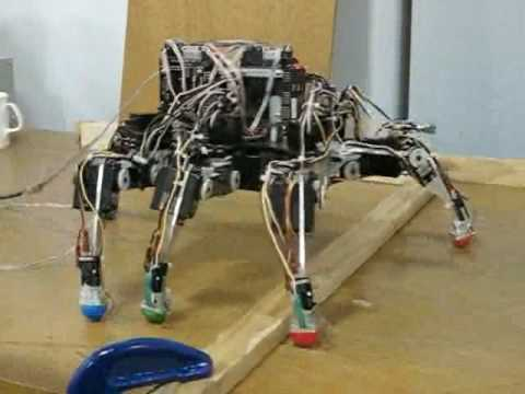 Autonomous robot - A small autonomous agile robot with an on-board neurologically-based control system. Developed by engineering professor Roger Quinn and his team at Case West...