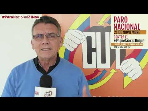 Jairo Arenas invita al #ParoNacional21N