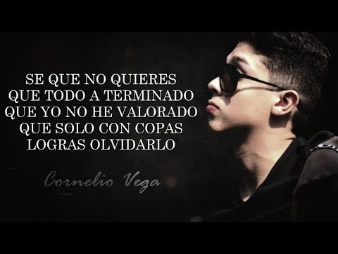 (LETRA) ¨AMOR CONFUSO¨ - Cornelio Vega Jr (Lyric Video)