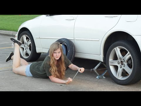 A Women s Guide To Changing A Tire