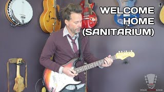 How to Play Welcome Home (Sanitarium) Metallica - Guitar Lesson