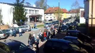 Błaszczak wygwizdany w Morągu!!!