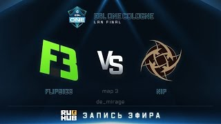 NiP vs Flipsid3, game 3