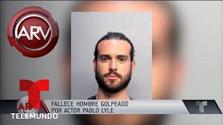 Murió el hombre que golpeó Pablo Lyle | Al Rojo Vivo