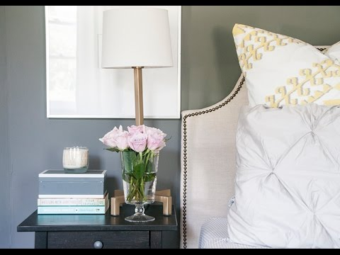 Bedside Table Styling Tutorial
