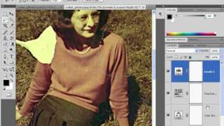 How to restore a damaged photograph in Photoshop CS4 - Part 2