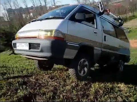 Интересные фургоны - Toyota Town Ace