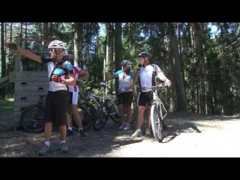 Mountainbike Fahrtechnik Kurs im Stubaital - Tirol im Sommer (видео)