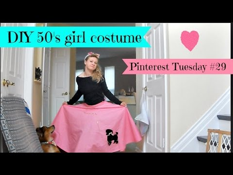 DIY 1950's girl costume - Pinterest Tuesday #29