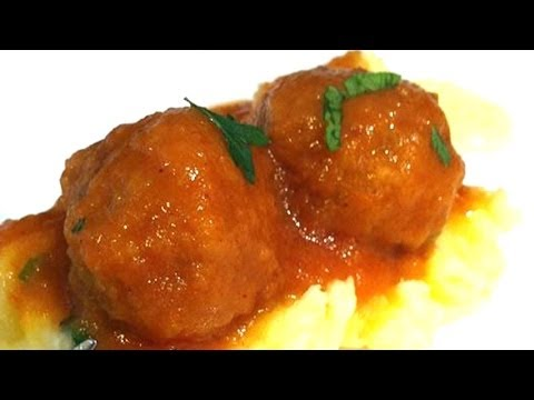 Meatballs in spanish sauce