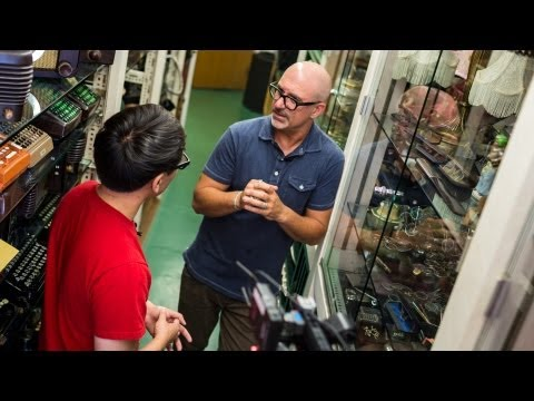 props - On our way down to Comic-Con, we stopped by a prop rental house in Los Angeles that supplies historical and modern hand props to TV and movie productions. Th...