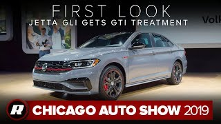 2019 VW Jetta GLI gets power boost and chassis upgrades | Chicago 2019 by Roadshow