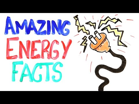 Energy - Here are some amazing facts about energy to shock your brain! Is Wind Energy Worth It? (VIDEO): http://youtu.be/Dzf9X7m8-9o SUBSCRIBE! http://bit.ly/10kWnZ7 ...