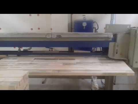 Видео Weinig Grecon ProfiJoint Линия шипового сращивания