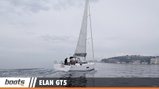 Climb aboard the 2017 Elan GT5 with boats.com reviewer Dieter Loibner as he gets a closer look at this new sailboat. The GT5 was constructed to combine the deck saloon concept of the Impression line with the performance haul of the E and S series.Read the full review: http://www.boats.com/reviews/elan-gt5-review/RELATED VIDEOS & PLAYLISTS:Elan GT5: First Look Video - https://youtu.be/M4tRJbgv78cSailboats and Sailing Boats - https://youtu.be/M4tRJbgv78cBoat Review / Performance Test - https://www.youtube.com/playlist?list=PL05F14609E2F696DFSubscribe to our boats.com channel: https://www.youtube.com/user/boatsdotcomFor more boating videos, visit http://www.boats.com.boats.com features boat reviews, how-to videos, special features, and information about new boats, boats for sale, and boating products—usually with a dash of fun.Our reviewers test the features, performance, and specifications of each boat, searching out the hidden details for a critical evaluation. If you're shopping for a boat, we want to help you make the best choice. And if you're just looking, we'll try to make it fun too. Subscribe to receive notification of new videos.