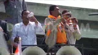 Protestors Rally At Army Club To Derail Feb. 2nd Elections - Bangkok