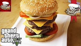 Video Comment faire le Burger GTA 5 | FastGoodCuisine MP3, 3GP, MP4, WEBM, AVI, FLV November 2017