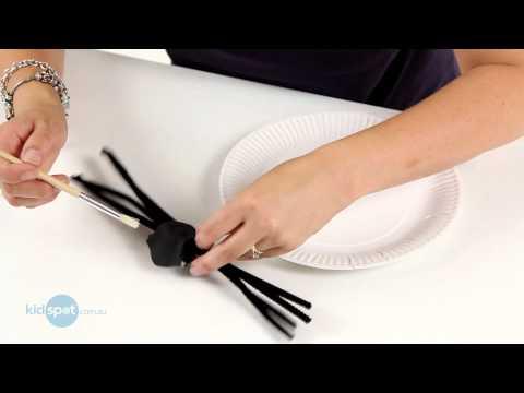 Cum sa confectionati un paianjen din carton