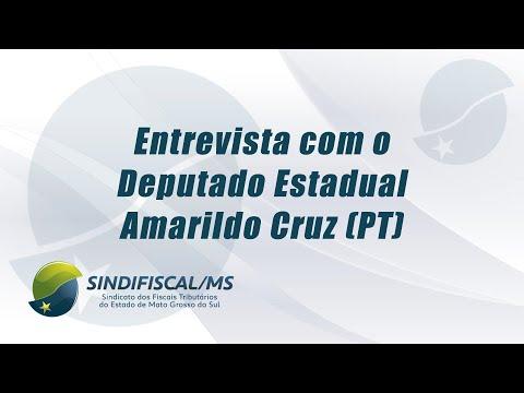 TV Sindifiscal entrevista Dep. Amarildo Cruz