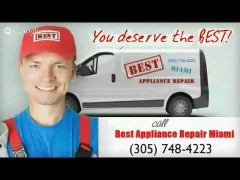 Appliance Repair Miami – (305) 748-4223 Refrigerator Repair, Dishwasher Repair, Washer/Dryer Repair
