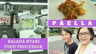 Video NYARI FOOD PROCESSOR & SUAMI MASAK PAELLA VLOG MP3, 3GP, MP4, WEBM, AVI, FLV September 2018