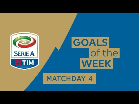 Serie A Goals & Highlights (English Commentary) | Matchday 4 Ronaldo Scores for Juventus | 2018/19