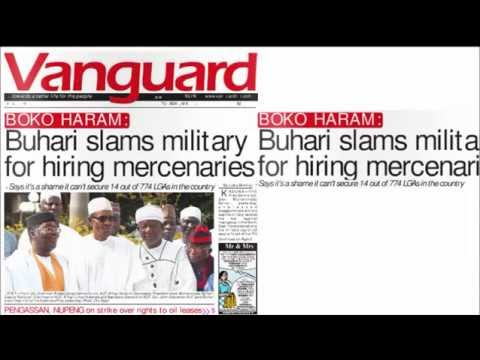 Nigerian-Newspaper-Headlines-19th May 2015-Jonathan sacks NIPC boss, Saratu Umar -People's Daily