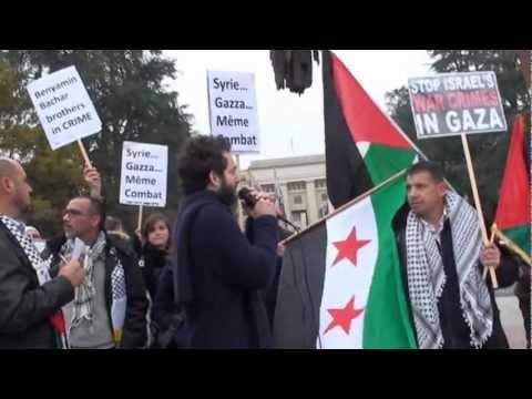 Rassemblement pour Gaza 17 nov 2012 - 2nde Partie