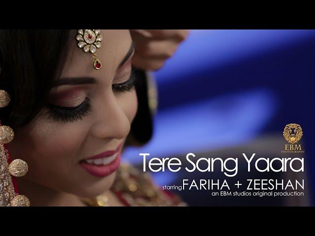Cinematic Pakistani Wedding In America Featuring Tere Sang Yaara