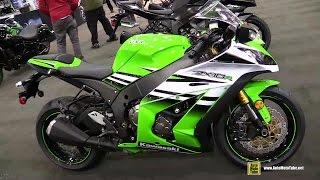 5. 2015 Kawasaki Ninja ZX-10R 30th Anniversary Edition Walkaround - 2014 Toronto ATV Show