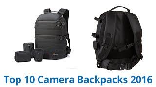 10 Best Camera Backpacks 2016