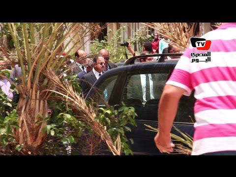وزير الداخلية يعاين موقع تفجير موكب النائب العام