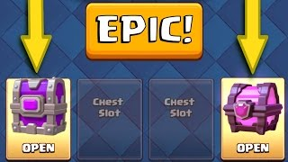 EPIC CHEST AND MAGICAL CHEST OPENING! :: Clash Royale :: NEW LEGENDARY GRAVEYARD DECK!