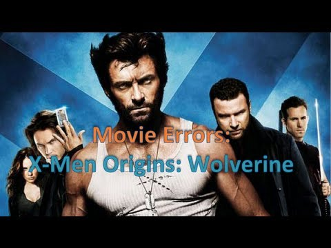 X Men Origins: Wolverine - Due to the release of the The Wolverine, I thought to give you guys a video showing every error in the most dreaded X-Men movie of the continuity (aside from...