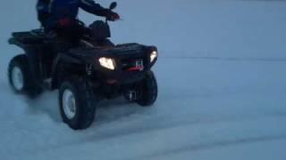 8. POLARIS SPORTSMAN 500 EFI 4X4 ATV  2009