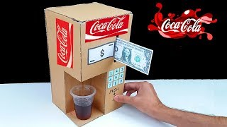 Video How to Make Coca Cola Fountain Machine from Cardboard at Home MP3, 3GP, MP4, WEBM, AVI, FLV Juli 2018