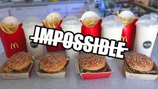 "Video The ""Impossible"" Big Mac Challenge DESTROYED MP3, 3GP, MP4, WEBM, AVI, FLV November 2017"