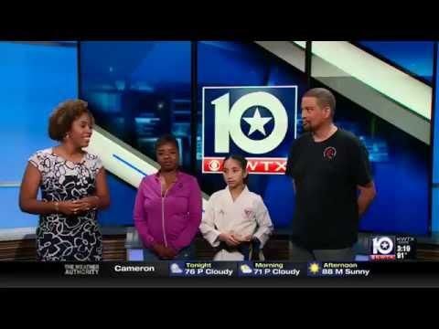 KWTV News Channel 10 Interview with ASKA- American Shotokan Karate Academy Killeen TX