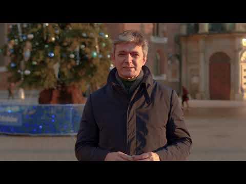 Życzenia świąteczne z dedykacją dla Włoszczowy od Posła do PE Adama Jarubasa