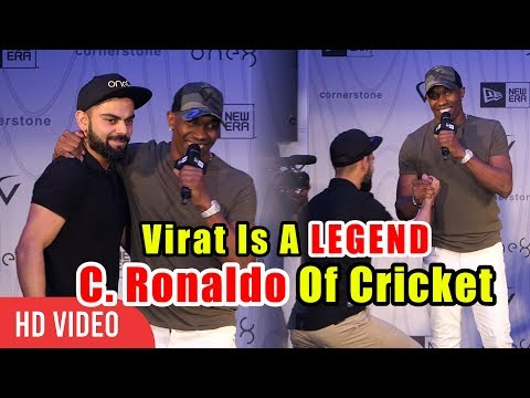 Video Virat Kohli Is A LEGEND And Cristiano Ronaldo Of Cricket   Dwayne Bravo Reaction On Virat Kohli download in MP3, 3GP, MP4, WEBM, AVI, FLV January 2017
