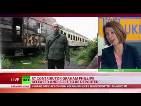 'Because I work for RT': Graham Phillips deported from Ukraine