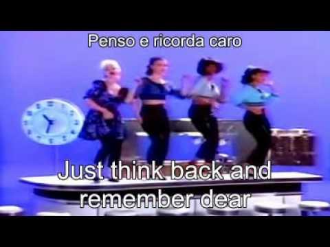 Madonna - True Blue ( Lyrics + traduzione ).avi