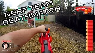 Video Nerf meets Call of Duty: Team Deathmatch | First Person on Real Life Nuketown! MP3, 3GP, MP4, WEBM, AVI, FLV Juli 2017